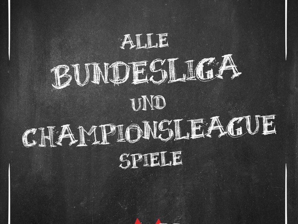 Bundesliga und Championsleague der Mohr Heidelberg