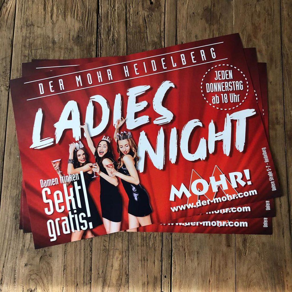 Der Mohr Ladies Night