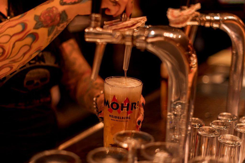 Der Mohr Bar Bier